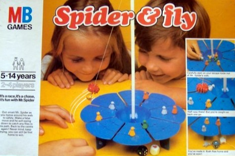 Spider & Fly Game | Vintage Board Games & Classic Toys | Vintage Playtime