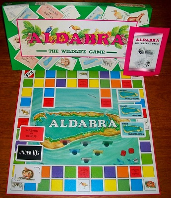 'Aldabra' Board Game