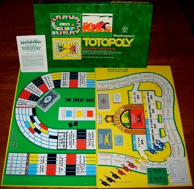 'Totopoly' Board Game