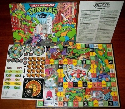 'Teenage Mutant Hero Turtles' Board Game