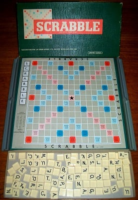 'Scrabble' Board Game