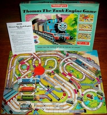 Thomas The Tank Engine Game Board Game By Waddingtons