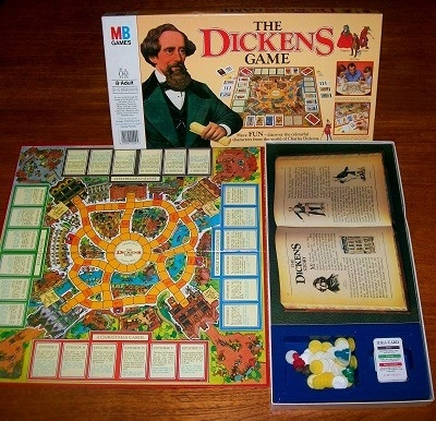 'The Dickens Game' Board Game