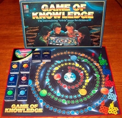 'Game Of Knowledge' Board Game