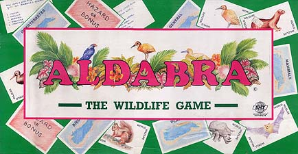Aldabra Board Game | Vintage Board Games & Classic Toys | Vintage Playtime