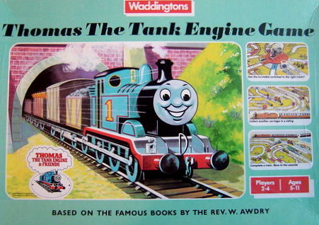 Thomas The Tank Engine Board Game | Vintage Board Games & Classic Toys | Vintage Playtime