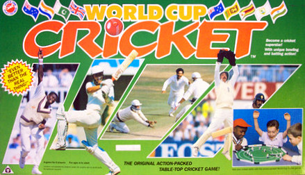 World Cup Cricket Game | Vintage Board Games & Classic Toys | Vintage Playtime