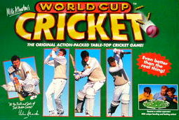 Mike Atherton's World Cup Cricket Game | Vintage Board Games & Classic Toys | Vintage Playtime