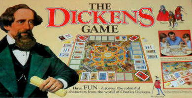 The Dickens Game Board Game | Vintage Board Games & Classic Toys | Vintage Playtime