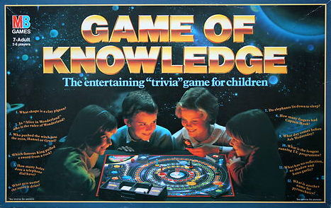 Game Of Knowledge Board Game | Vintage Board Games & Classic Toys | Vintage Playtime