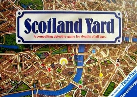 Scotland Yard Board Game | Vintage Board Games & Classic Toys | Vintage Playtime