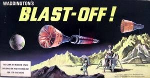 Blast-Off! Board Game | Vintage Board Games & Classic Toys | Vintage Playtime