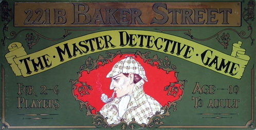 221b Baker Street: The Master Detective Game Board Game | Vintage Board Games & Classic Toys | Vintage Playtime