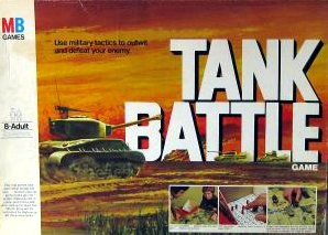 Tank Battle Board Game | Vintage Board Games & Classic Toys | Vintage Playtime