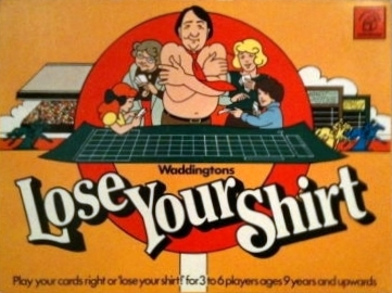 Lose Your Shirt Board Game | Vintage Board Games & Classic Toys | Vintage Playtime