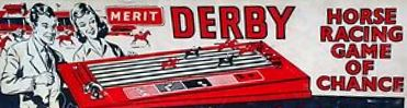 Derby Horse Racing Game of Chance Game | Vintage Board Games & Classic Toys | Vintage Playtime