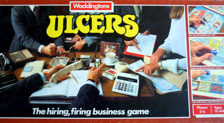 Ulcers Board Game | Vintage Board Games & Classic Toys | Vintage Playtime