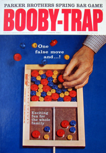Booby Trap Game | Vintage Board Games & Classic Toys | Vintage Playtime