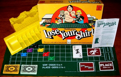 'Lose Your Shirt' Board Game