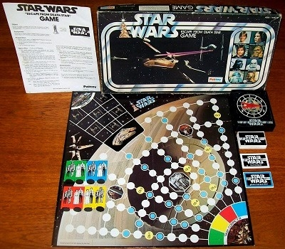 STAR WARS: ESCAPE FROM DEATH STAR GAME | Board Game by ...