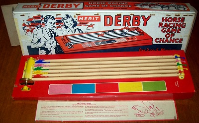 'Derby Horse Racing Game Of Chance' Game