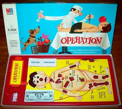 Cars Operation Game Rules