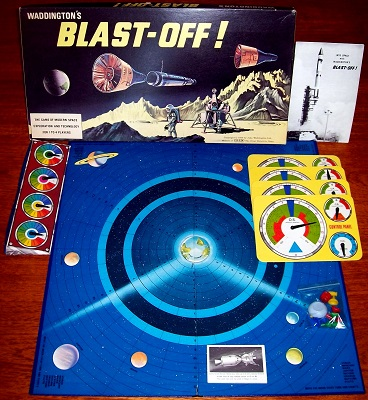 'Blast-Off' Board Game