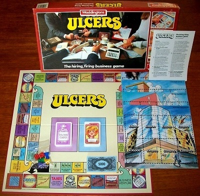 'Ulcers' Board Game