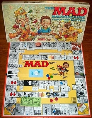'The Mad Magazine Game' Board Game