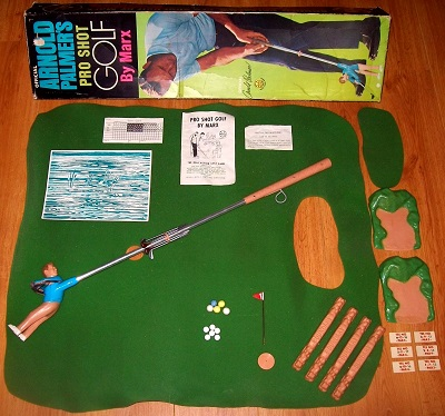 'Arnold Palmer's Pro Shot Golf' Game