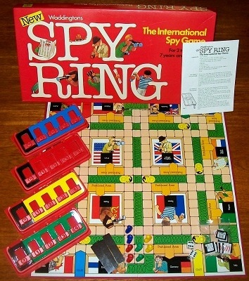'Spy Ring' Board Game