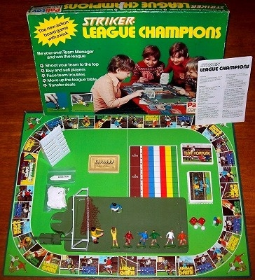 'Striker League Champions' Board Game
