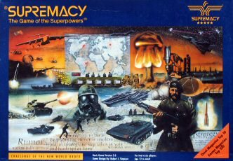 Supremacy Board Game | Vintage Board Games & Classic Toys | Vintage Playtime