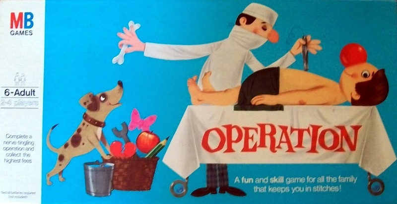Operation Game | Vintage Board Games & Classic Toys | Vintage Playtime