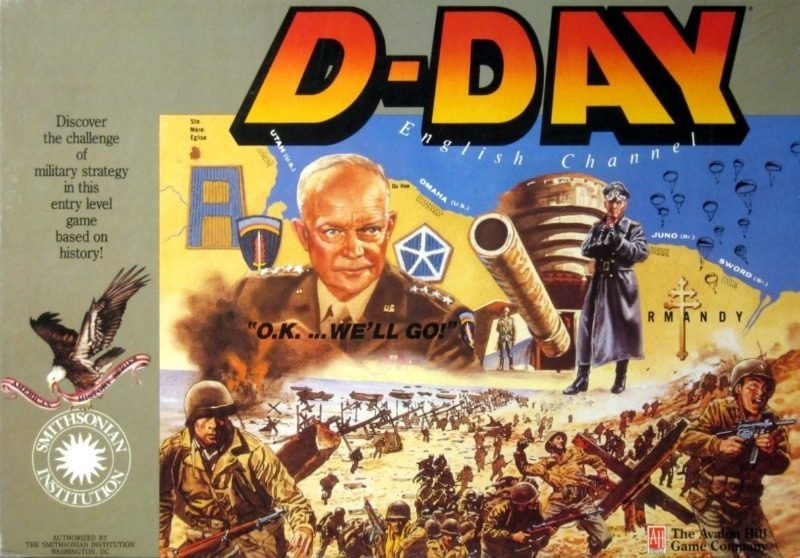 D-Day Board Game | Vintage Board Games & Classic Toys | Vintage Playtime