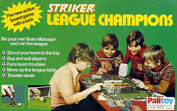 Striker League Champions Board Game | Vintage Board Games & Classic Toys | Vintage Playtime