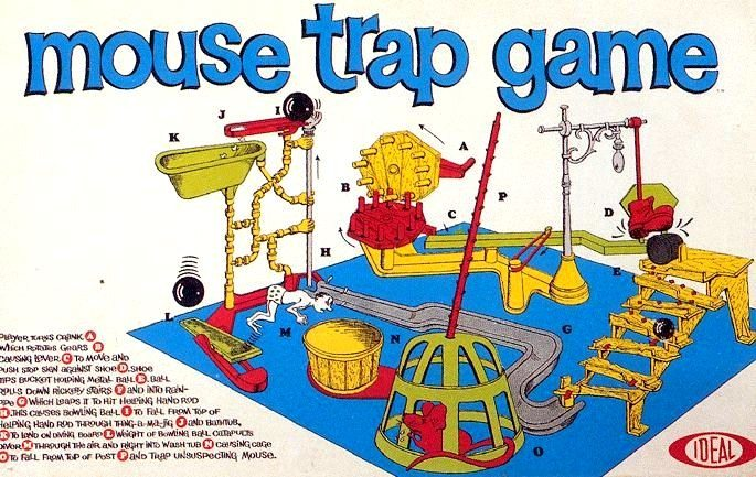 Mouse Trap Game Board Game | Vintage Board Games & Classic Toys | Vintage Playtime