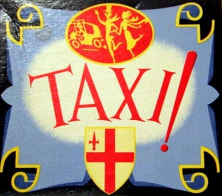 Taxi! Board Game | Vintage Board Games & Classic Toys | Vintage Playtime