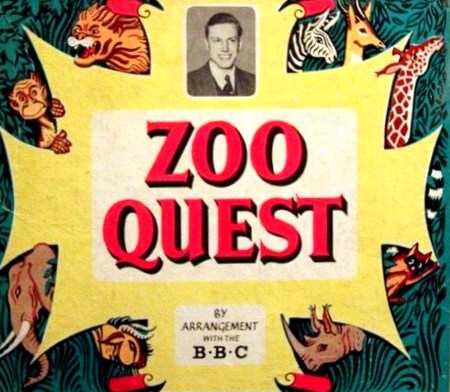 Zoo Quest Board Game | Vintage Board Games & Classic Toys | Vintage Playtime