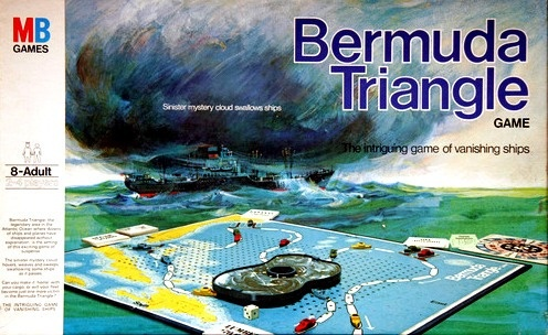 Bermuda Triangle Board Game | Vintage Board Games & Classic Toys | Vintage Playtime