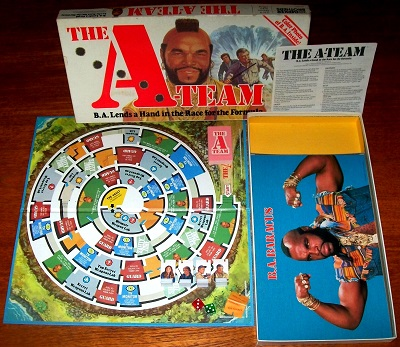 'The A-Team' Board Game