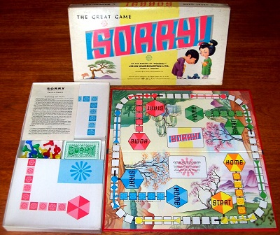 'Sorry!' Board Game