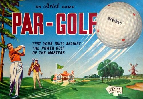 Par-Golf Board Game | Vintage Board Games & Classic Toys | Vintage Playtime