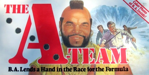 The A-Team Board Game | Vintage Board Games & Classic Toys | Vintage Playtime