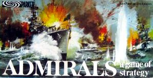 Admirals Board Game | Vintage Board Games & Classic Toys | Vintage Playtime