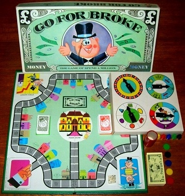 'Go For Broke' Board Game