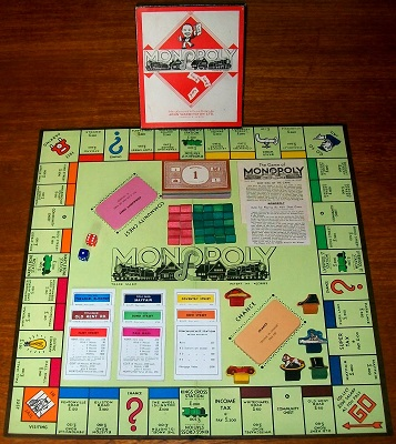 'Monopoly' Board Game