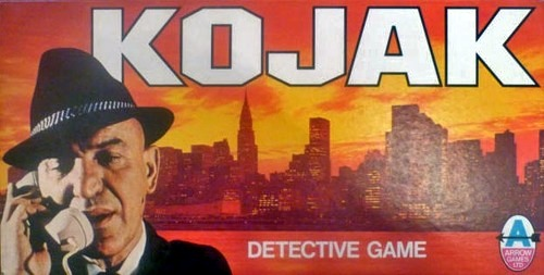 Kojak: Detective Game Board Game | Vintage Board Games & Classic Toys | Vintage Playtime