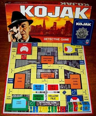 'Kojak: Detective Game' Board Game