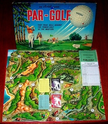 'Par-Golf' Board Game